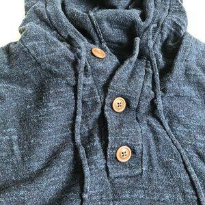 J. Crew Factory Shirts - J. Crew Factory Henley Knit Hoodie